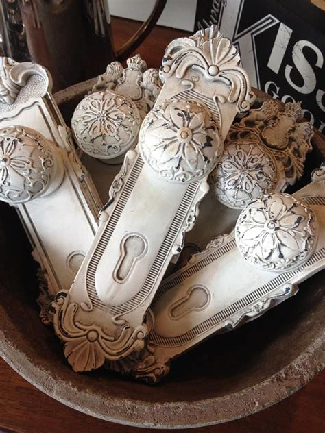 Vintage Door Handles And Knobs by Basket Of Antique White Door Knobs And Plates Hardware