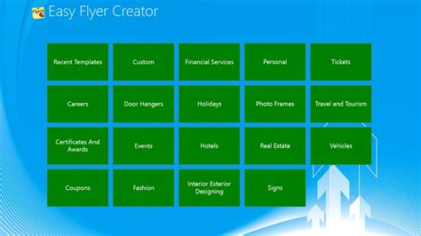 Easy Flyer Creator For Windows 8 And 8 1 Microsoft Windows Templates
