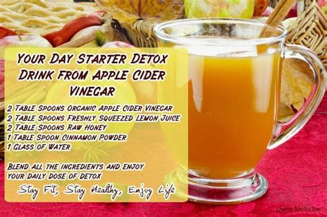 How To Make An Apple Cider Vinegar Detox Drink by How To Make Apple Cider Vinegar Detox Drinks Autos Post