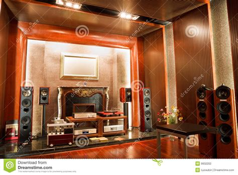 photographing interiors luxury hifi studio interior stock photography image 9932202