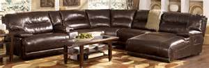 Ideas For Leather Chaise Lounge Design Living Room Decor With Black Leather Sectional Chaise Sofa With Reclining Furniture Awesome