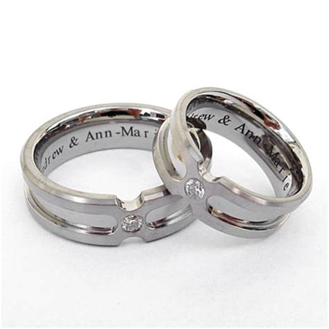 New Rings Wedding by A New Rings Trend Engraved Style Wedding Planning
