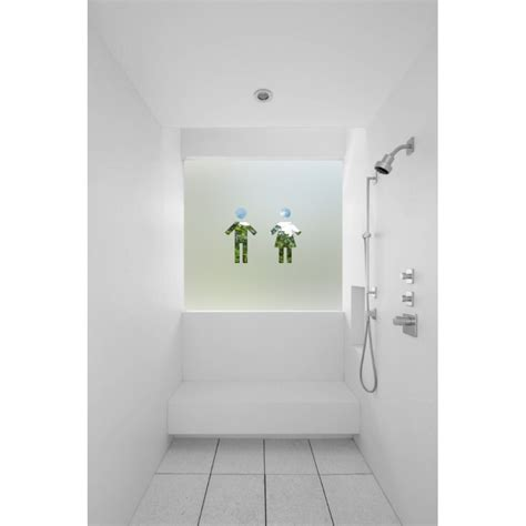 frosted bathroom window film contemporary male female symbol cut out bespoke custom