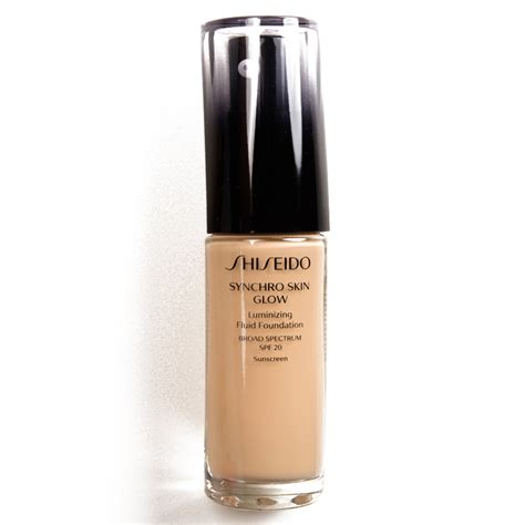 Foundation Shiseido Synchro Sponsored Shiseido Synchro Skin Glow Luminizing Liquid