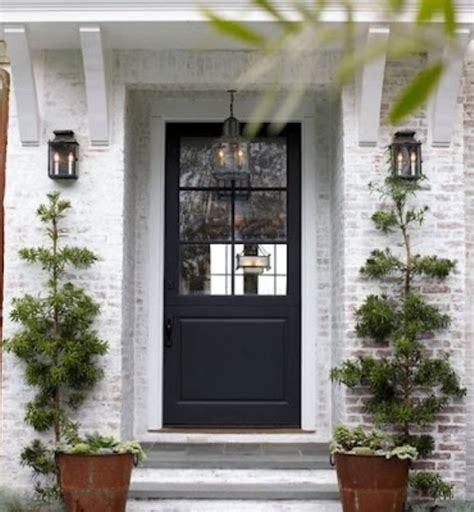 brick house front door front doors dreaming in color making lemonade