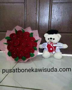 Boneka Wisuda Pekanbaru jual bunga flanel pekanbaru murah dan cepat wa 081 5650