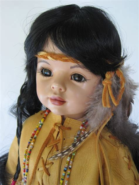 annabelle doll buy india 20 inch american indian porcelain doll indian