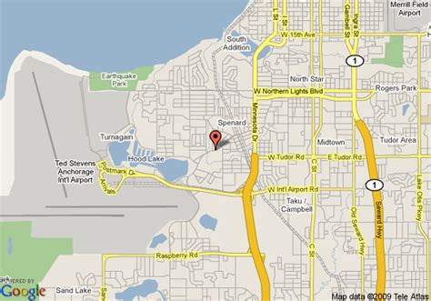 us map anchorage alaska map of anchorage eagle nest hotel anchorage