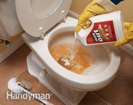 how to use muriatic acid to clean bathroom top 10 household cleaning tips the tough problems