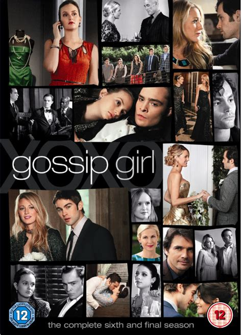 All Girly Gossip Everything That A Would To say goodbye to gossip by winning season 6 on dvd