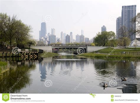 z lincoln park lincoln park in chicago stock photography image 19602912