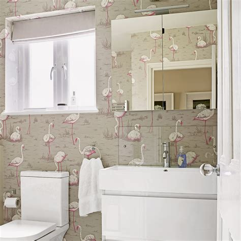 small bathroom wallpaper ideas optimise your space with these small bathroom ideas