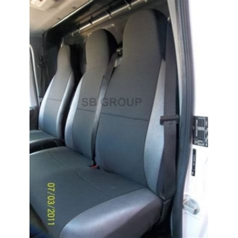 van seat upholstery vw transporter t5 van seat covers anthracite cloth with