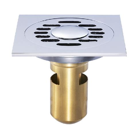 bathroom floor drain smells buy brass silver anti odor floor drain bathroom sealed