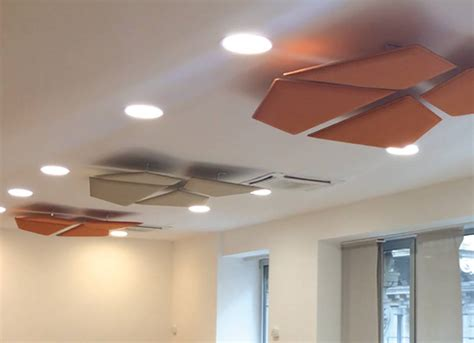 Acoustic Panels For Ceiling by Flap Acoustic Panels Wave Office Ltd