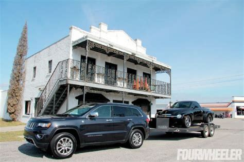 jeep grand tow capacity 2014 jeep grand ecodiesel towing trailer photo