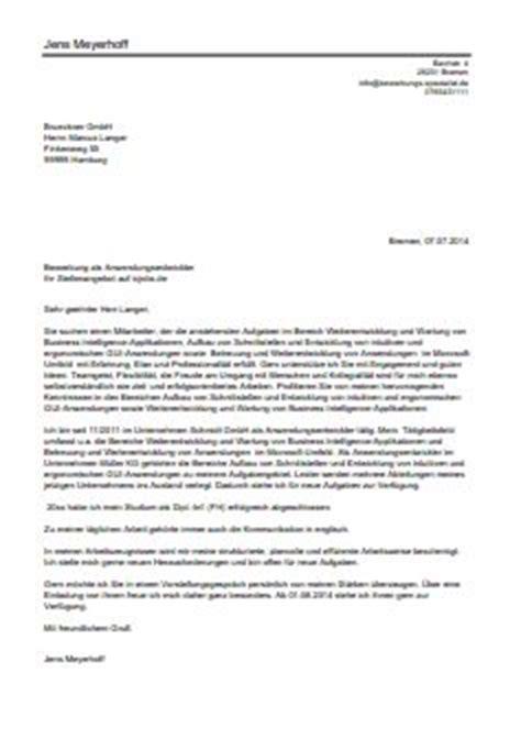 Bewerbungsbrief Beispiel Kellnerin Per Mausklick Zur Bewerbung Als Datenerfasserin Datenerfasser