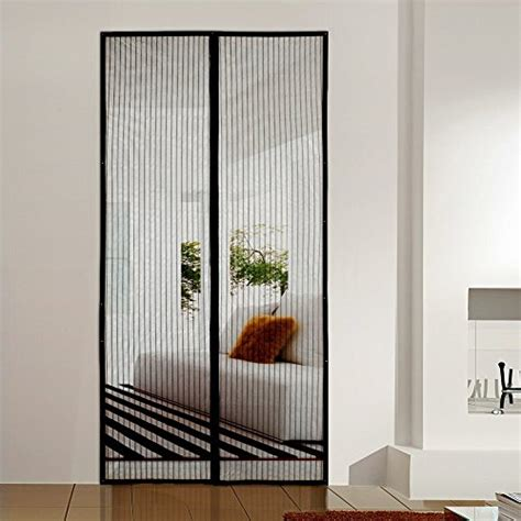 Patio Door Screens Magnetic Homee Magnetic Mesh Screen Door For Doors Garage Patio Gardens Outdoors And Indoor