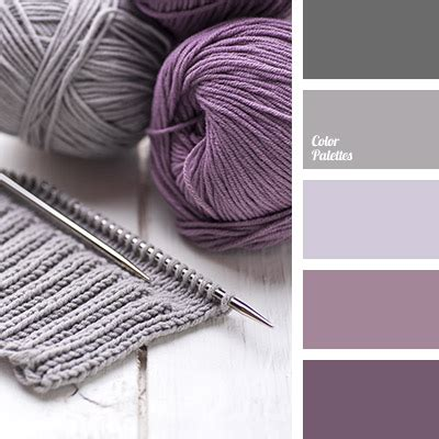 gray and purple color palette ideas