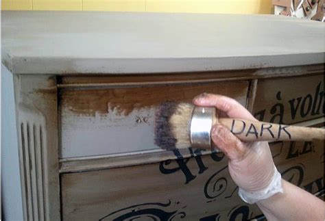 typography dresser with chalk paint the graphics