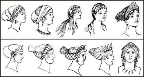 greek hairstyles history the history of hairstyles timeline timetoast timelines