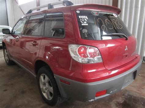 2003 mitsubishi outlander used parts parting out 2003 mitsubishi outlander stock 120183