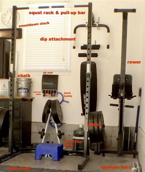setting up a crossfit garage at home is easier than