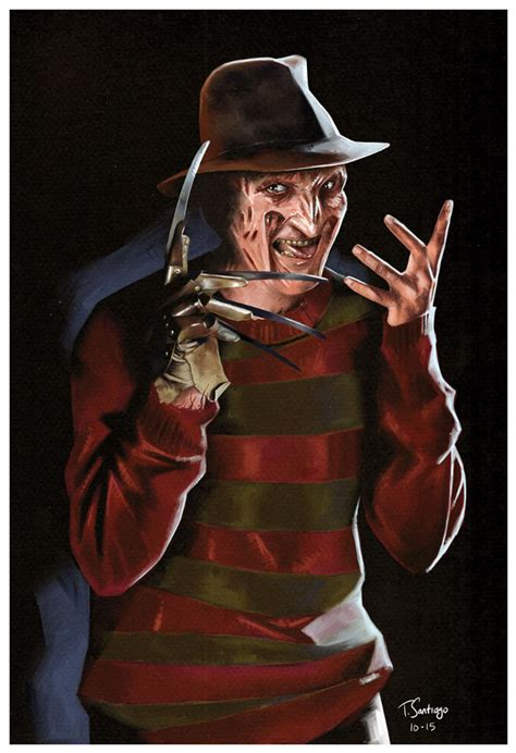 imagenes de freddy krueger en 3d freddy kruger nightmare fan art tony santiago by tsantiago