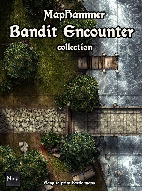 printable heroes bandit bandit encounter collection maphammer drivethrurpg com