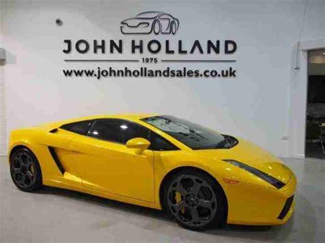 V10 Lamborghini Price Lamborghini Gallardo V10 Coupe Special Order Paint Sat Nav