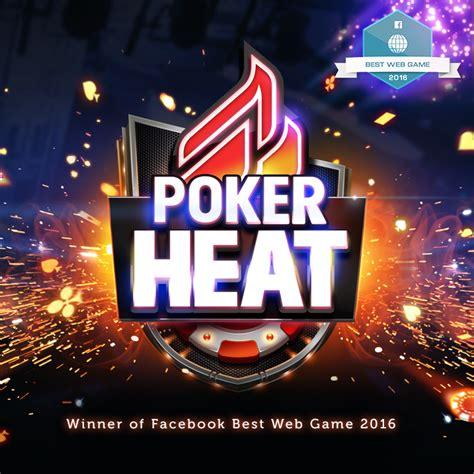 poker heat wins facebooks   web game award