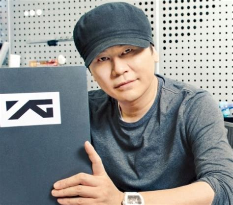 blackpink yang hyun suk yang hyun suk takes hat off for first time in 5 years on