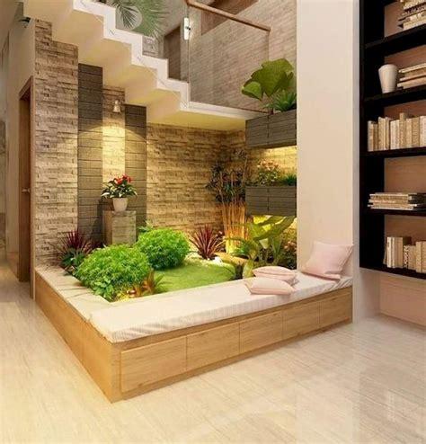 unique decoration ideas  indoor garden  stairs