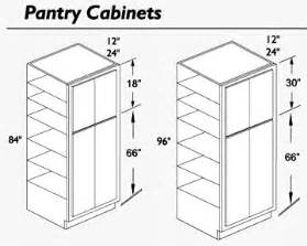 Kitchen Pantry Cabinet Sizes Kitchen Pantry Cabinet Dimensions