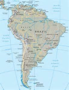 south america maps world gazetteer