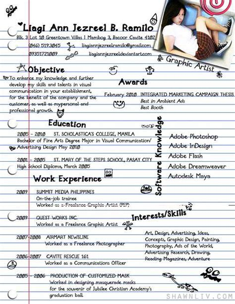 Outstanding Resumes by Top 25 Creative And Outstanding Resume Cv Sles