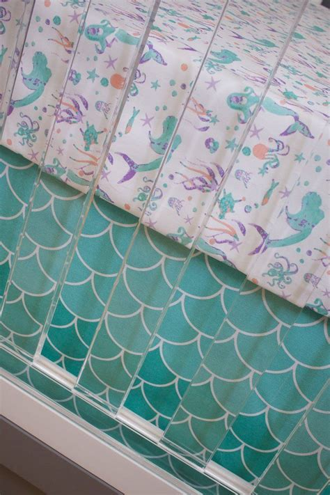 Mermaid Crib Sheet by Best 25 Mermaid Nursery Theme Ideas On