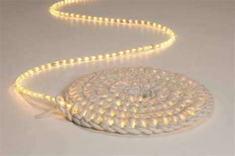 lighted crochet rug august 2012 do it and how