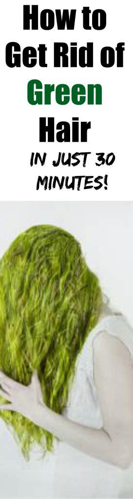 How To Get Rid Of Hair On by How To Get Rid Of Green Hair Aka Swimmer S Hair