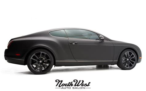 bentley supersport black project exodus matte black bentley supersports wrap