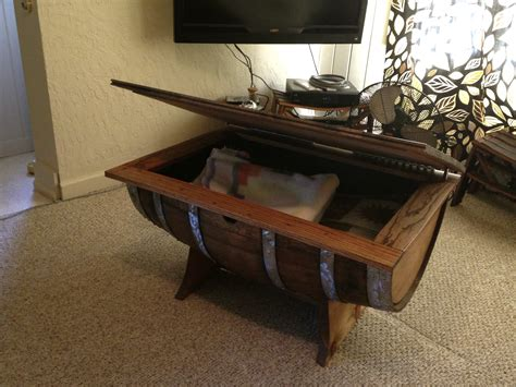 How To Make A Wine Barrel Coffee Table Wine Barrel Coffee Table Stave Designsstave Designs