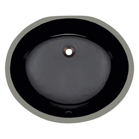 polaris sinks undermount porcelain bathroom sink in black