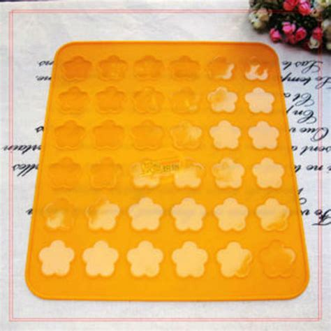 Simple Tip Use Two Cookie Sheets by Macaroon Silicone 28 5x26 Plum Flower Baking Mat Cookies