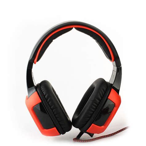 Headset Sades 906 new sades sa 906 pc gaming headset w microphone volume black ebay