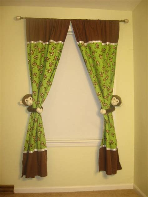 Pink Green And Brown Nursery Curtains Curtain Pink And Green Nursery Curtains