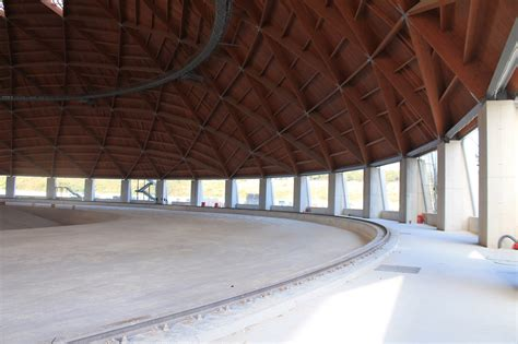cupola geodetica legno centrale enel di brindisi pronta la seconda cupola