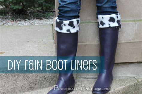 rubber boot liners fleece diy rain boot liners practically functional