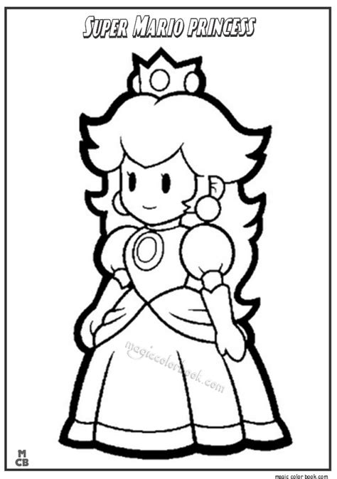 mario coloring pages princess mario princess coloring pages