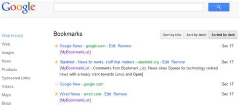 google images favorites el redise 241 o de google ha llegado a google bookmarks gizmos