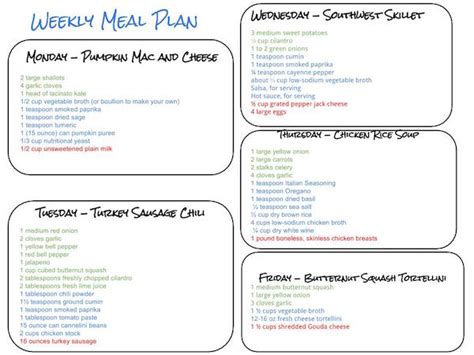 meal planner grocery list 52 week meal prep and planning grocery list meal planner notebook design comver chalkboard volume 2 books healthy weekly meal plan week of 10 17 15 thyme